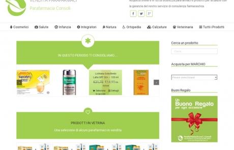 E-commerce www.venditaparafarmaci.it